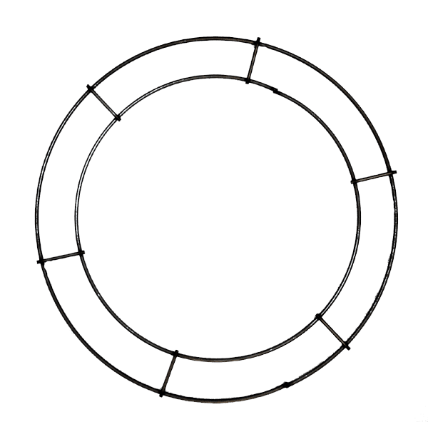 Double Rail Rings Flat Wreath Rings Goderie S Tree Farm